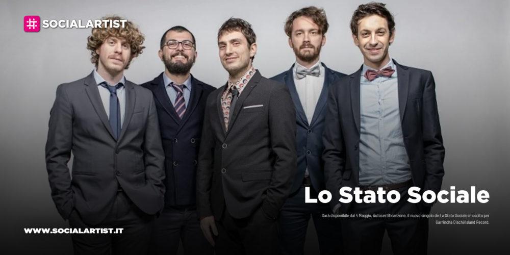 """Lo Stato Sociale, dal 4 maggio il nuovo singolo """"Autocertificanzone"""""""