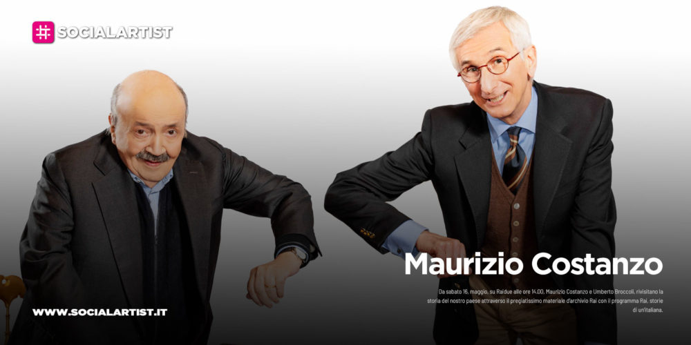 """Maurizio Costanzo, da sabato 16 maggio """"Rai, storie di un'italiana"""""""