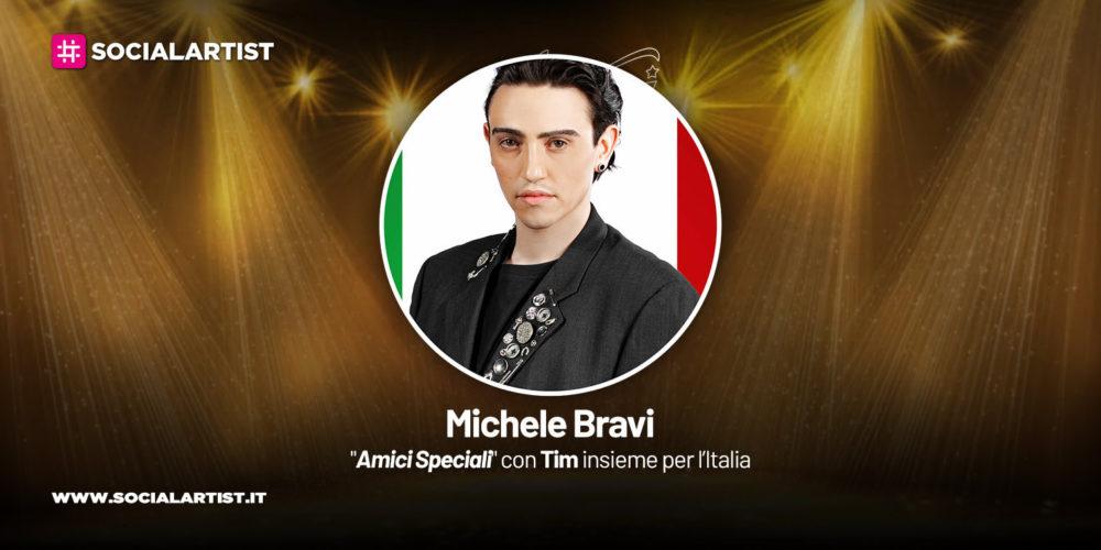 Amici Speciali con Tim insieme per l'Italia, la scheda di Michele Bravi