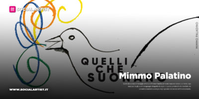 Mimmo Palatino regala una sua opera all'appello dei musicisti italiani