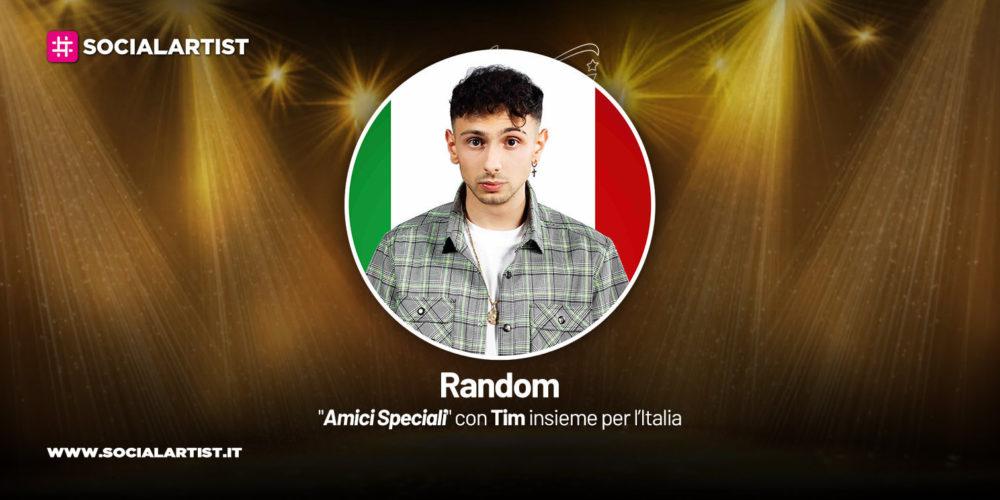 Amici Speciali con Tim insieme per l'Italia, la scheda di Random