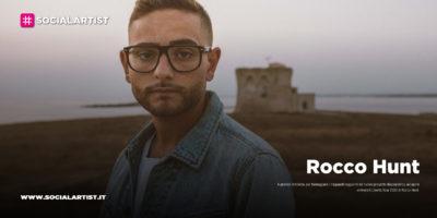 """Rocco Hunt, annunciate le date del """"Libertà Tour 2021"""""""