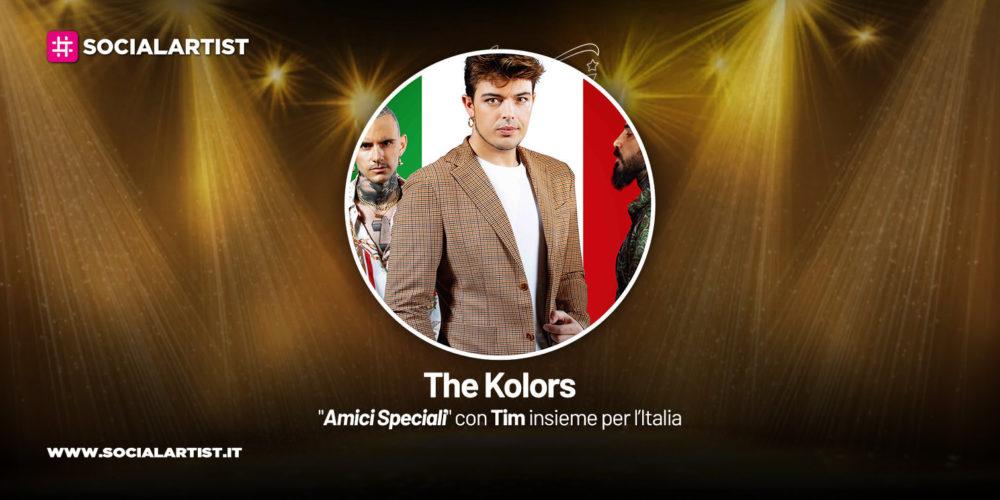 Amici Speciali con Tim insieme per l'Italia, la scheda dei The Kolors