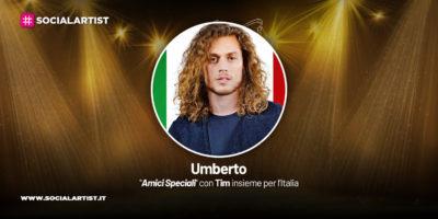 Amici Speciali con Tim insieme per l'Italia, la scheda di Umberto Gaudino