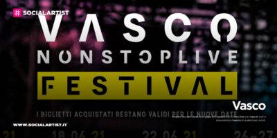 "Vasco, annunciate le date del ""Vasco Non Stop Live Festival 2021"""