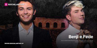 Benji e Fede, annunciata la data evento all'Arena di Verona