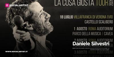 """Daniele Silvestri, le date del """"La cosa giusta Tour 2020"""""""