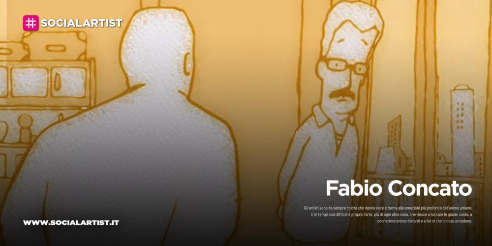 """Fabio Concato, il cartone animato """"L'umarell"""""""