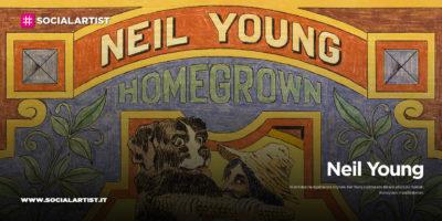 """Neil Young, dal 19 giugno il nuovo album """"Homegrown"""""""