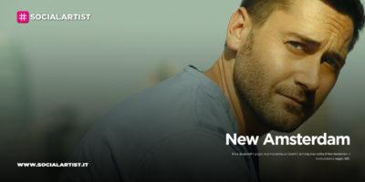 """Mediaset, dal 4 giugno i nuovi episodi di """"New Amsterdam"""""""