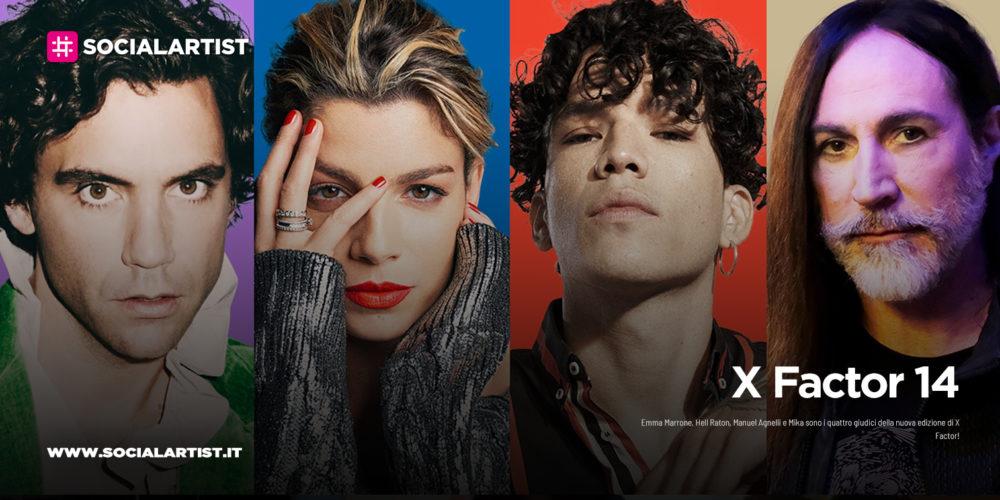 X Factor 2020, i giudici della quattordicesima edizione