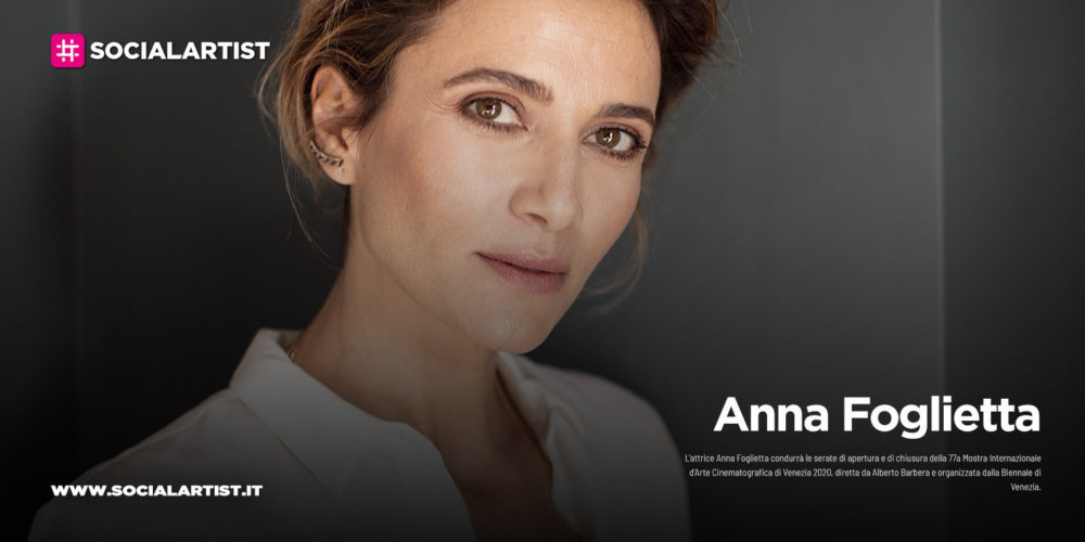 Anna Foglietta, conduttrice alla 77a Mostra Internazionale d'Arte Cinematografica
