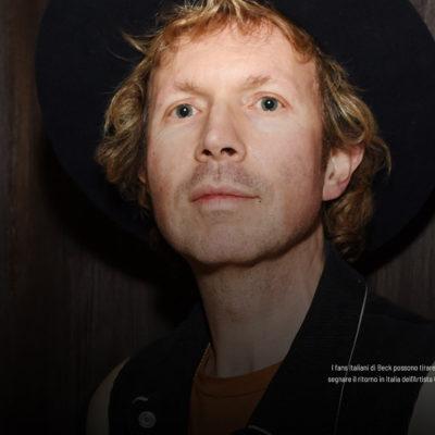Beck, le date italiane del tour 2021