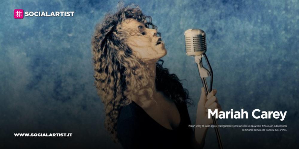 Mariah Carey, dà inizio ai festeggiamenti per i suoi 30 anni di carriera
