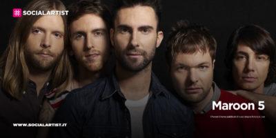 """Maroon 5, dal 24 luglio il nuovo singolo """"Nobody's Love"""""""