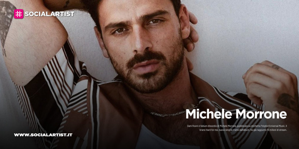 """Michele Morrone, dal 31 luglio il nuovo album """"Dark Room"""""""