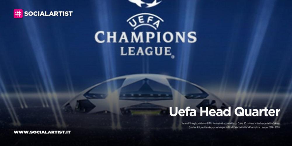 """20, venerdì 10 luglio in diretta """"Uefa Head Quarter"""""""
