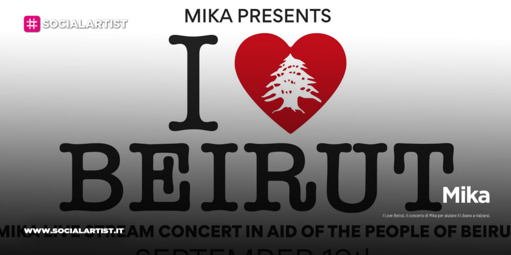 """Mika, il concerto a sostegno del Libano """"I Love Beirut"""""""