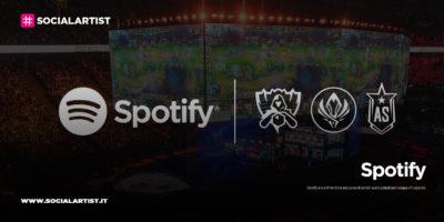 Spotify annuncia la prima partnership in ambito eSport