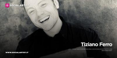 """Tiziano Ferro, dal 3 agosto in radio """"Perdere l'amore"""" feat. Massimo Ranieri"""