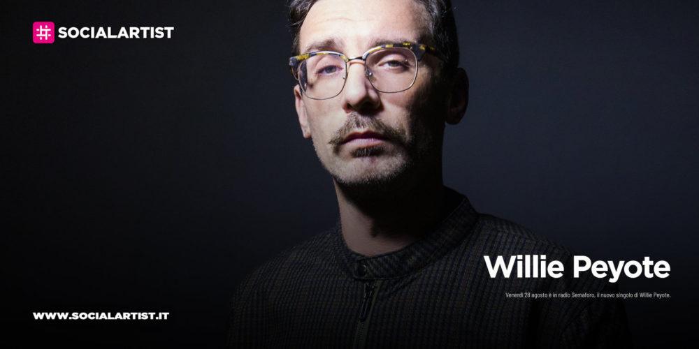 """Willie Peyote, dal 28 agosto il nuovo singolo """"Semaforo"""""""