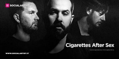 Cigarettes After Sex, le date del tour 2021