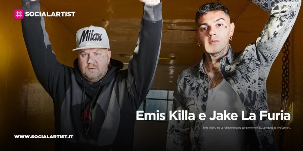 """Emis Killa e Jake La Furia, le date del """"Emis Killa e Jake La Furia: L'Apocalisse"""""""