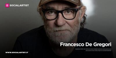"""Francesco De Gregori, le date del """"De Gregori & Band – Greatest Hits 2021"""""""
