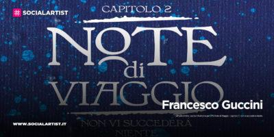 """Francesco Guccini, dal 9 ottobre il secondo capitolo di """"Note di Viaggio"""""""