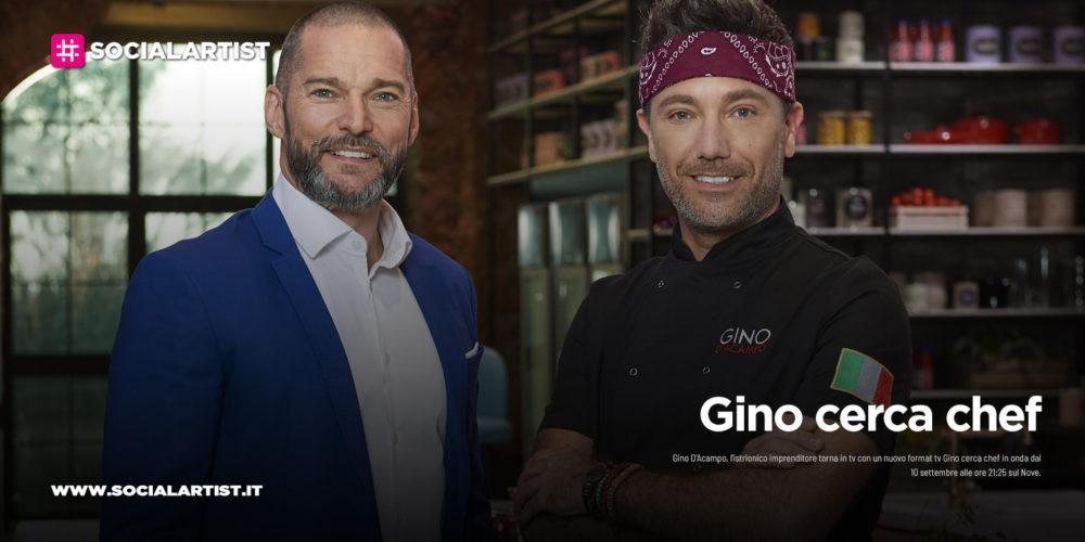 """NOVE, dal 10 settembre in prima serata """"Gino cerca chef"""""""