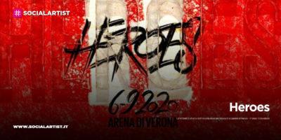 """LaFeltrinelli, dal 1 al 6 settembre gli album degli artisti di """"Heroes"""""""