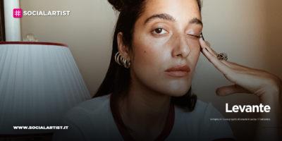 """Levante, dal 17 settembre il nuovo singolo """"Vertigine"""""""