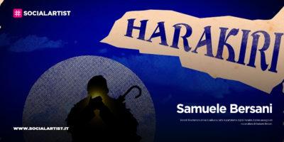"Samuele Bersani, dal 18 settembre il nuovo singolo ""Harakiri"""