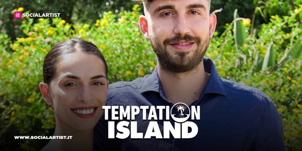 Temptation Island 8, la coppia Salvo e Francesca
