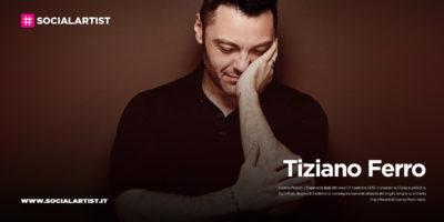 """Tiziano Ferro, dal 6 novembre il nuovo album """"Accetto Miracoli: l'esperienza degli altri"""""""