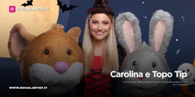 """Carolina e Topo Tip, dal 29 ottobre il nuovo film """"Carolina e Topo Tip. Il Mistero di Halloween"""""""