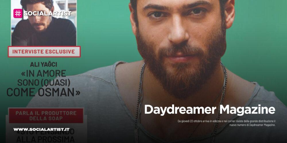Daydreamer Magazine, dal 22 ottobre in edicola il nuovo numero