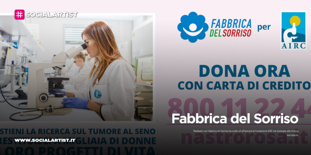 "Mediaset, ottobre dedicato alla ""Fabbrica del Sorriso"""