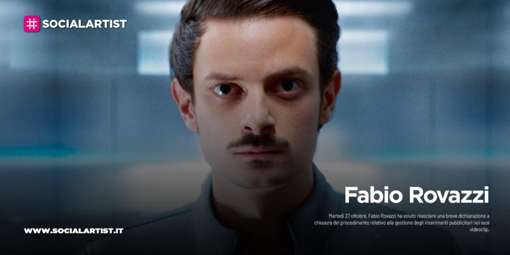 Fabio Rovazzi, chiuso il procedimento relativo agli inserimenti pubblicitari nei suoi videoclip