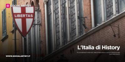 """Sky, da lunedì 26 ottobre sul canale 408 """"L'Italia di History"""""""