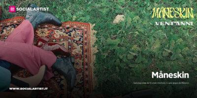 """Måneskin, dal 30 ottobre il nuovo singolo """"Vent'anni"""""""