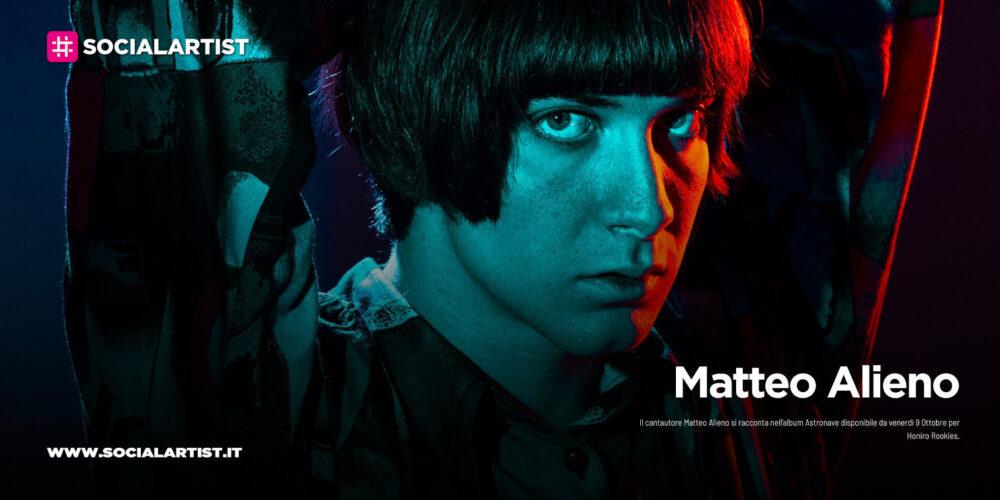 """Matteo Alieno, il track by track del nuovo album """"Astronave"""""""