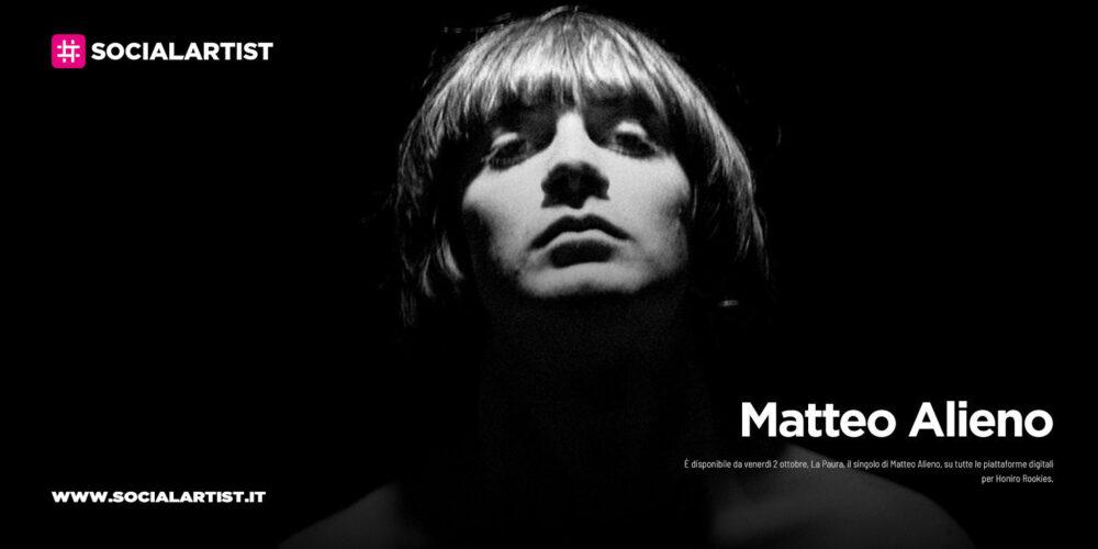 """Matteo Alieno, dal 2 ottobre il nuovo singolo """"La Paura"""""""