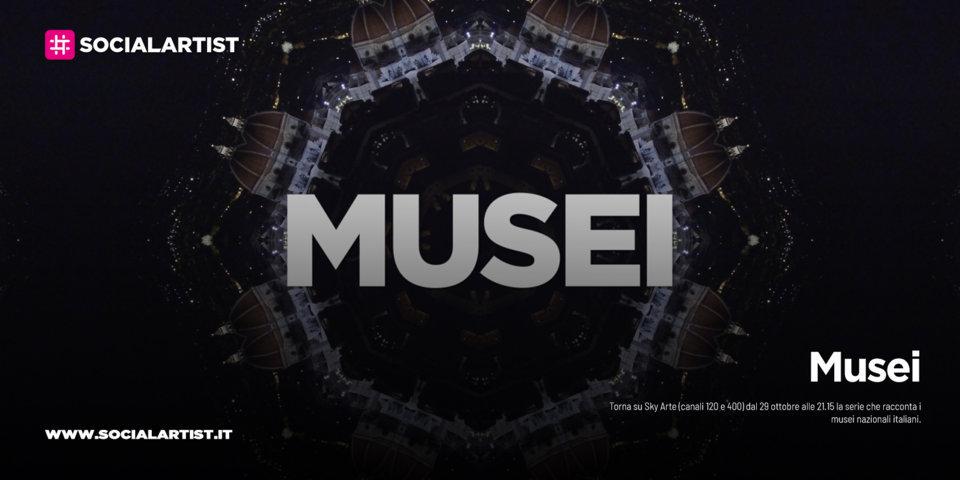 Musei, la nuova produzione Sky Original dedicata alle più grandi istituzioni museali italiane