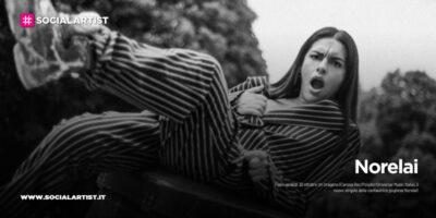 """Norelai, dal 30 ottobre il nuovo singolo """"Un uragano"""""""