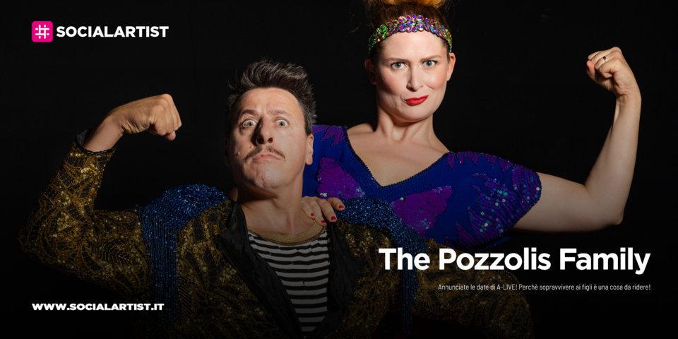 """The Pozzolis Family, le date del """"A-LIVE! Perchè sopravvivere ai figli è una cosa da ridere!"""""""