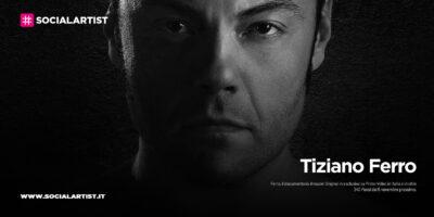 """Tiziano Ferro, dal 6 novembre il documentario """"Ferro"""""""