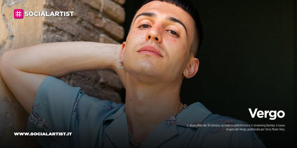 """Vergo, dal 30 ottobre il nuovo singolo """"Bomba"""""""
