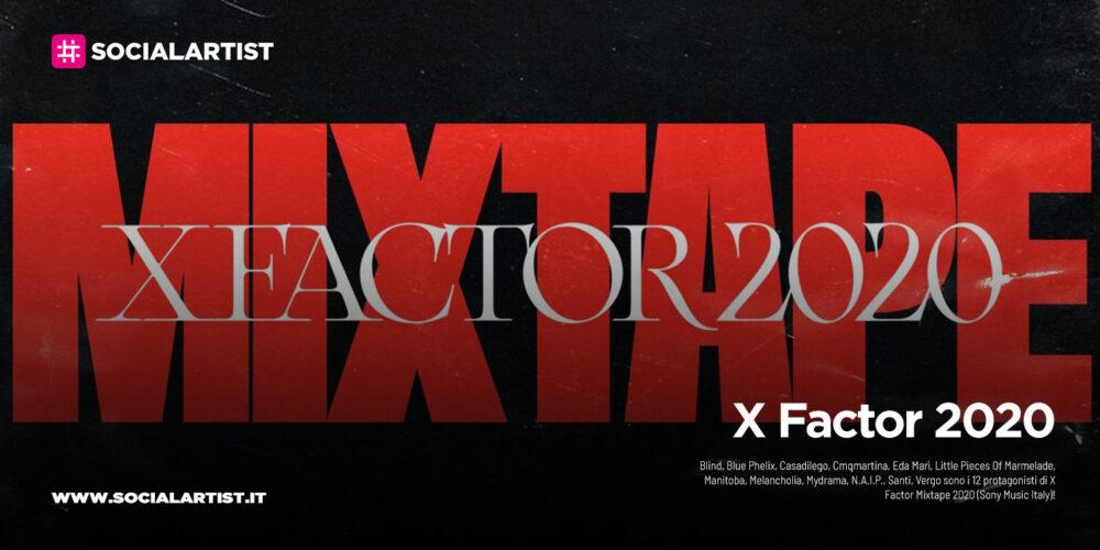 """X Factor 2020, dal 30 ottobre il nuovo album """"X Factor Mixtape 2020"""""""