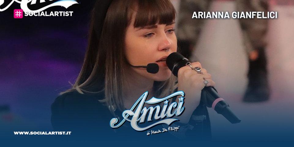 Amici 20, la scheda della cantautrice Arianna Gianfelici